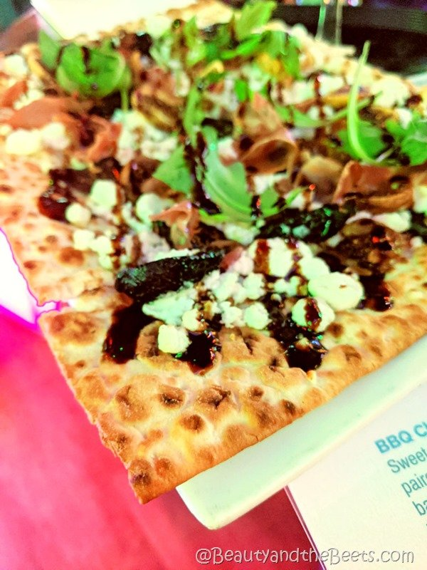 Fig and Goat Cheese Flatbread Icebar Beauty and the Beets Orlando