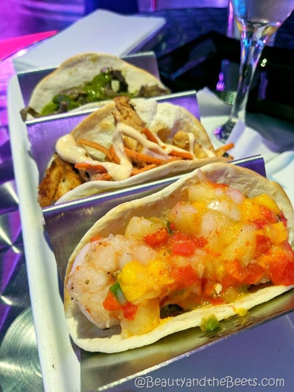 Shrimp Tacos Icebar Beauty and the Beets