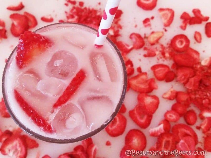 Beauty and the Beets copycat Starbucks Pink Drink #PinkDrink recipe