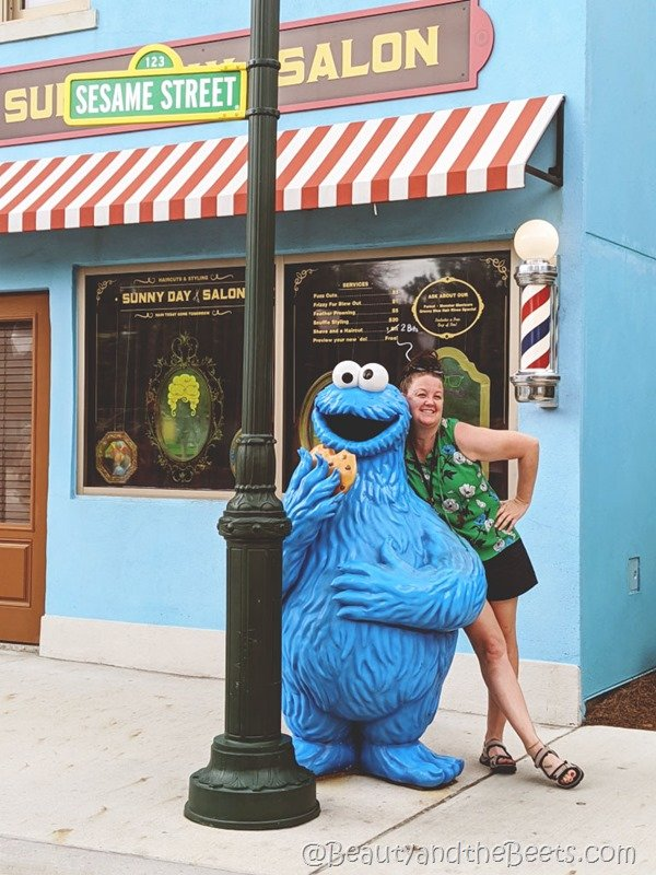 Cookie Monster Sea World Orlando Beauty and the Beets