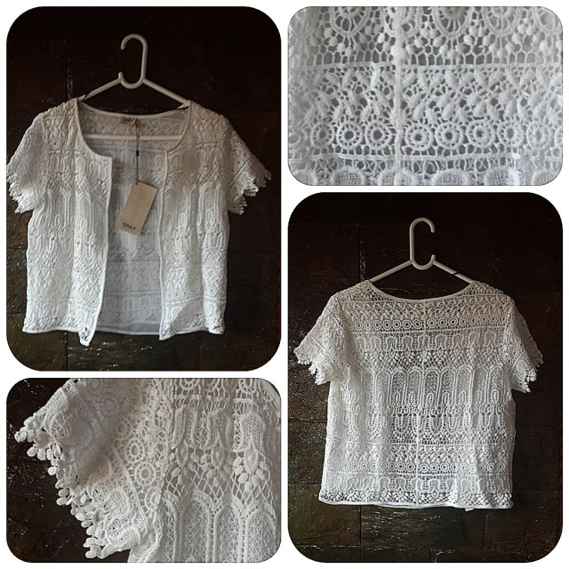 Only Crochet Jacket