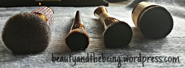 Tarte Brushes close up