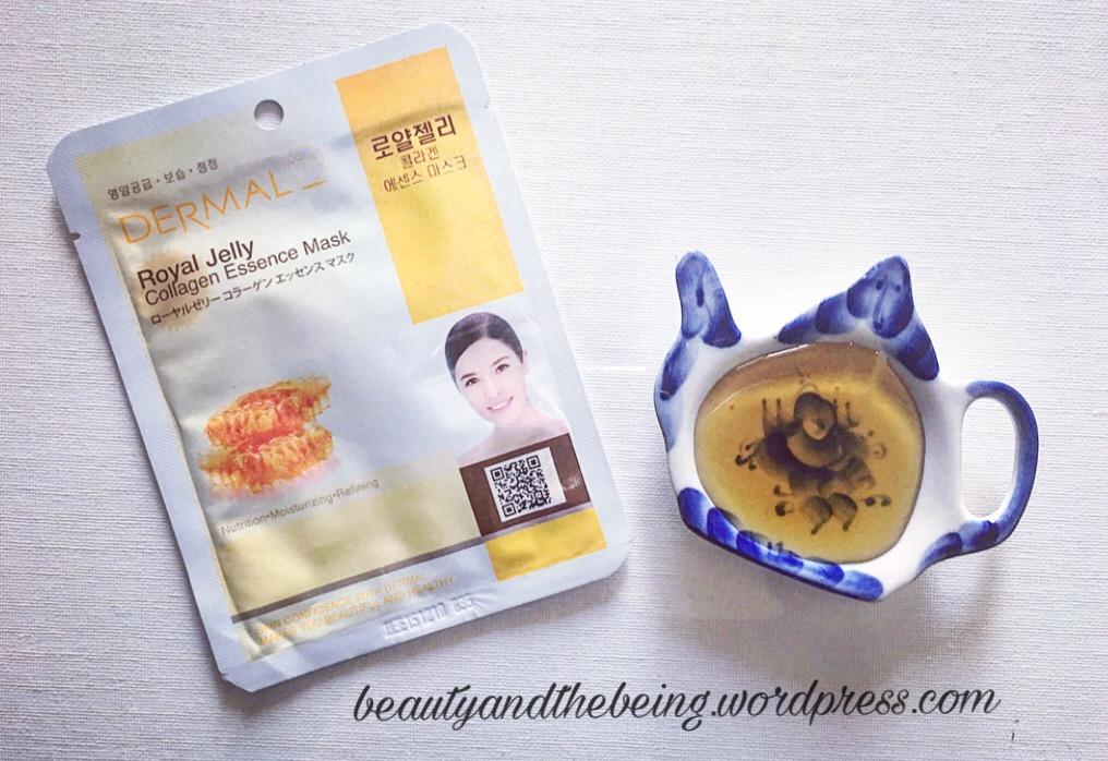 Dermal Royal Jelly Collagen Essence Mask
