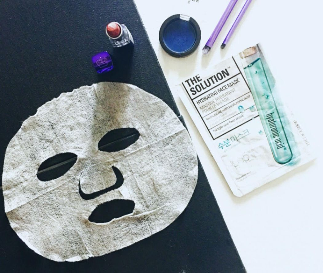 THE SOLUTION Hydrating Face Mask by THE FACESHOP | Review