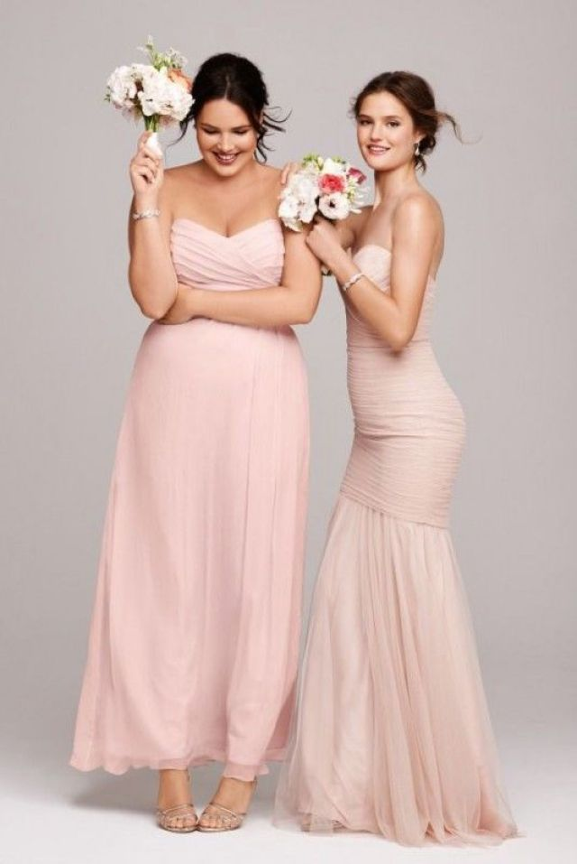 Figure Flattery: Tips to Pick the Perfect Bridesmaid's Gown for Your Shape
