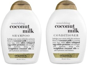 Ogx Coconut Milk Shampoo and Conditioner