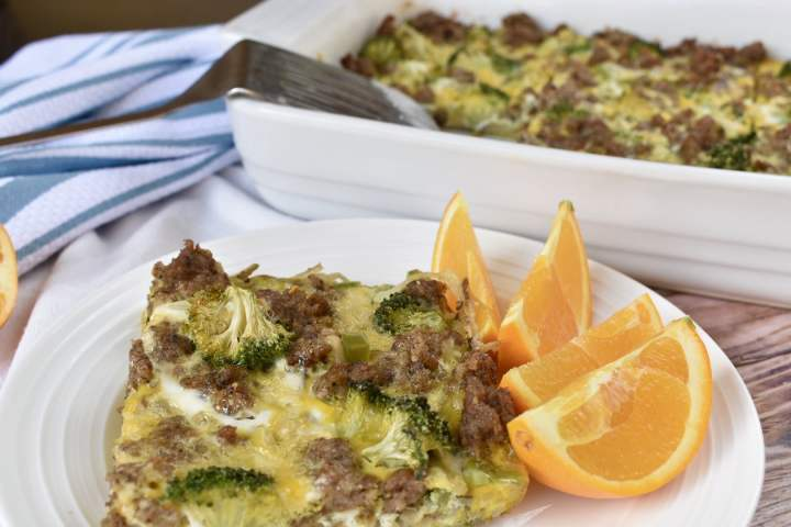 easy whole30 breakfast casserole