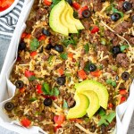 Taco Casserole: Paleo & Whole 30
