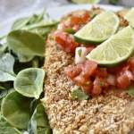 air fried chili lime tilapia