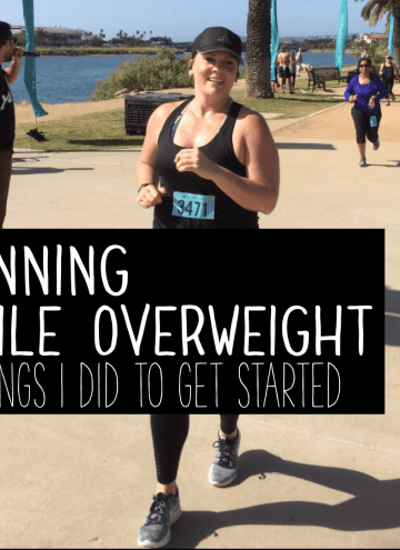running while overweight