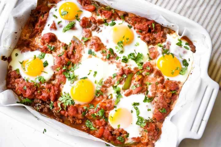 southwest breakfast bake
