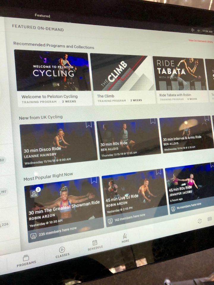 peloton bike review