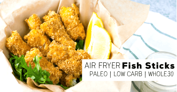 air fryer fish sticks