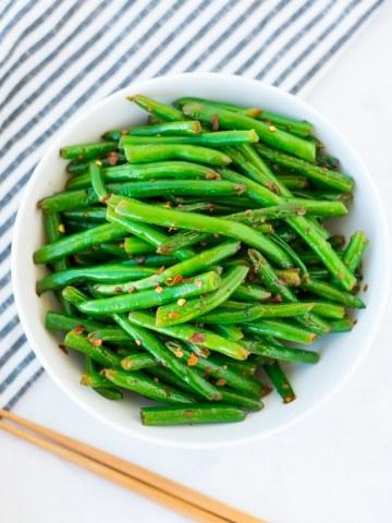 paleo garlic green beans