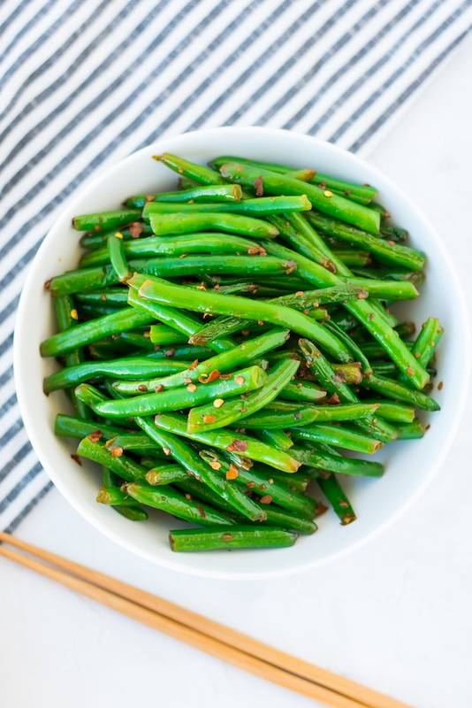 paleo garlic green beans