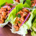 BBQ Chicken Lettuce Wraps (Whole30, Paleo, Keto)