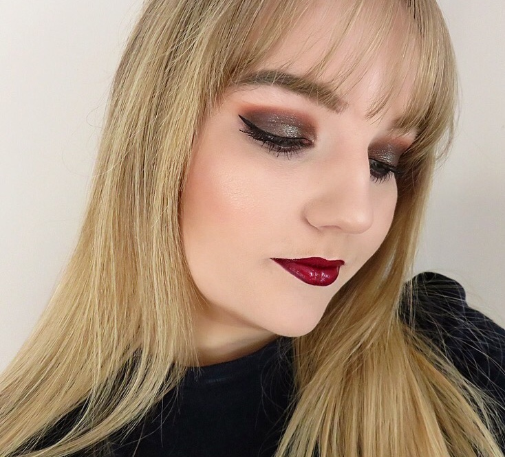 Glam Christmas Party Makeup