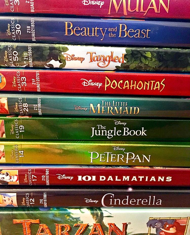 Favourite Disney movies