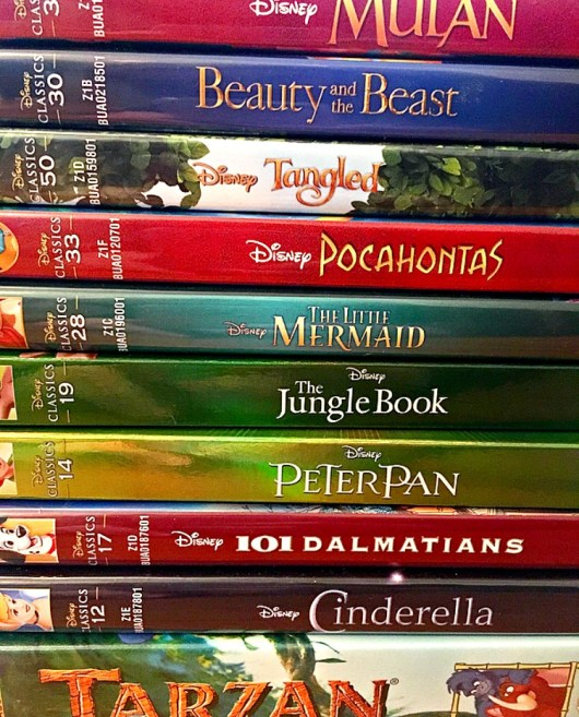 Favourite Disney movies