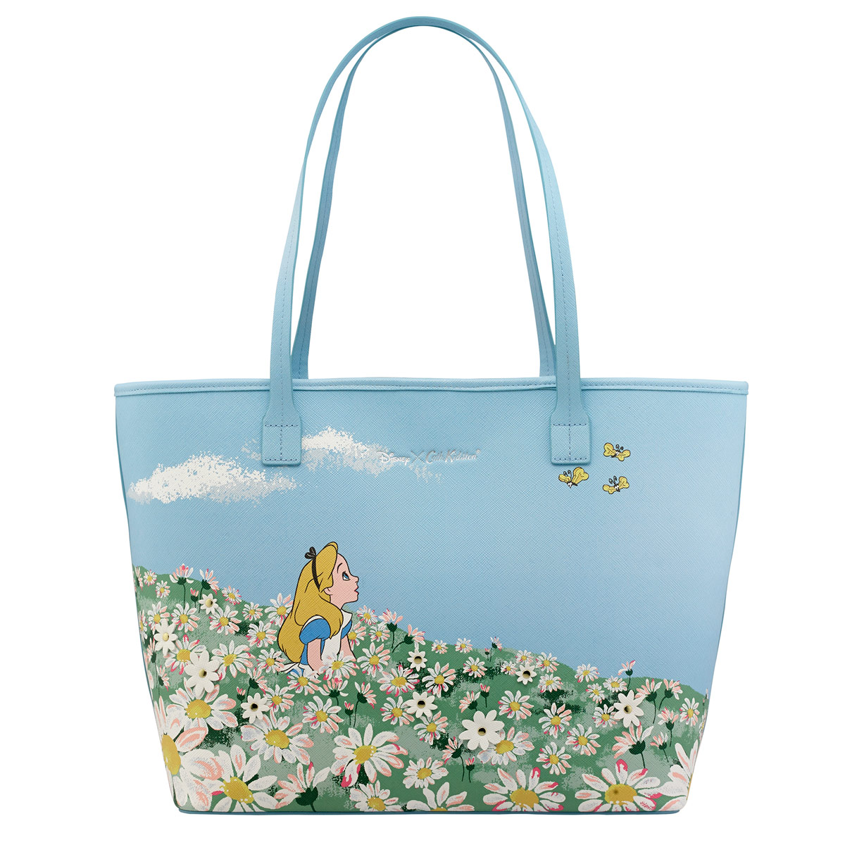 ALICE MEADOW APPLIQUE TOTE