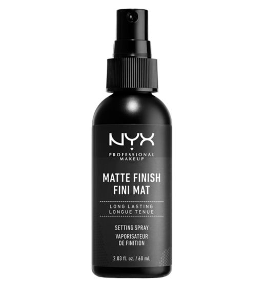 NYX Professional Makeup Setting Spray - Matte Finish Read more at https://www.boots.com/nyx-professional-makeup-setting-spray-matte-finish