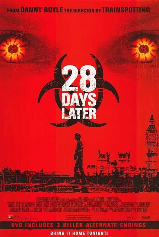 28 Days Later - Scariest Movies