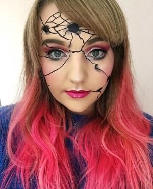 Broken Doll Makeup Look