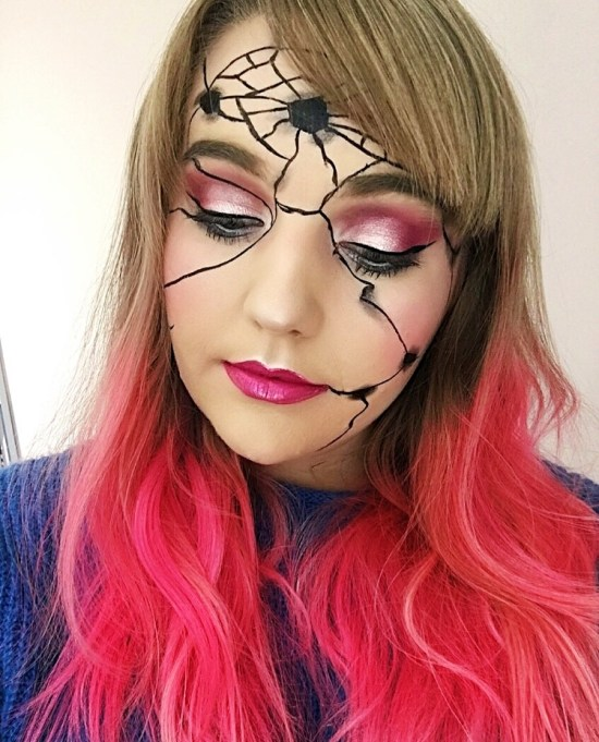 Broken Doll Makeup