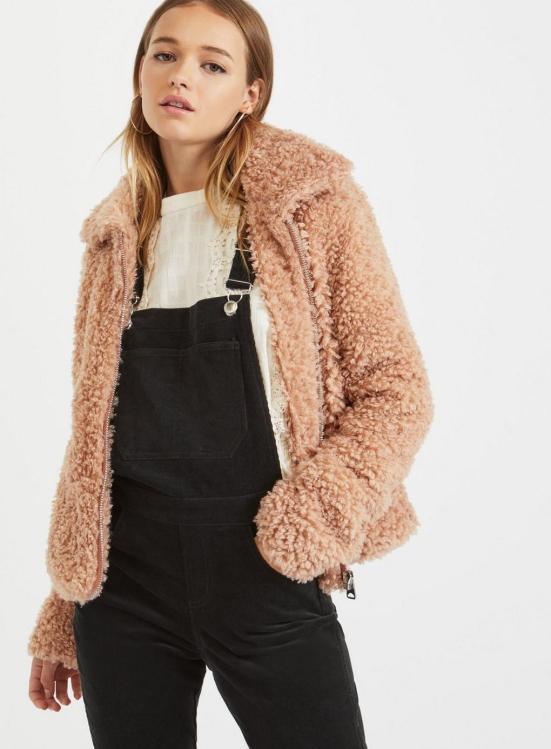 Miss Selfridge Teddy Coat