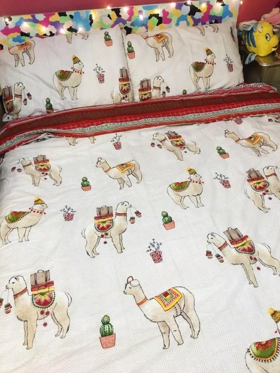 Llama Print Easy Care Duvet Set - autumn homewar