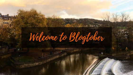 Welcome to Blogtober