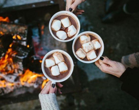 Blogtober hot chocolate