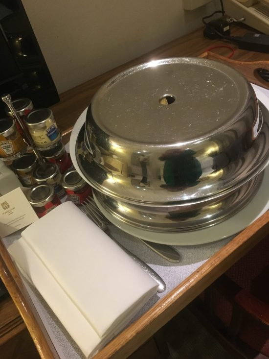 Room service, birthday weekend
