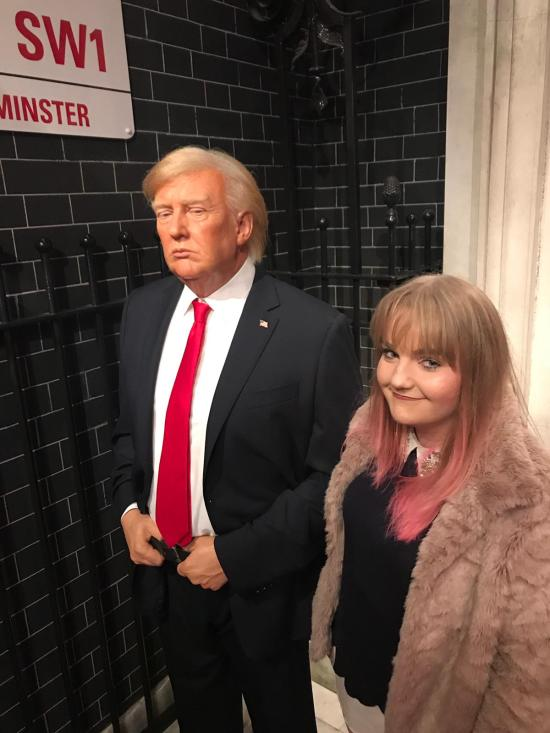 Madame Tussauds, birthday weekend