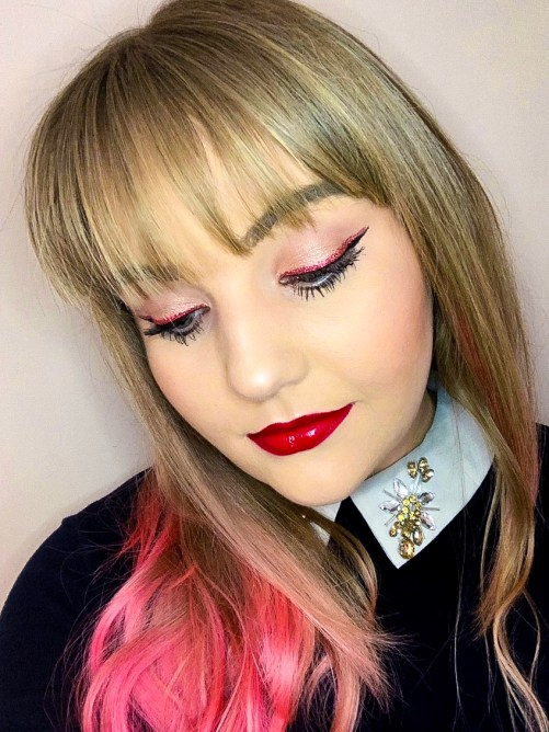 Pretty Valentine's Day Makeup