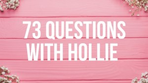 73 Questions with Hollie – Vogue Parody