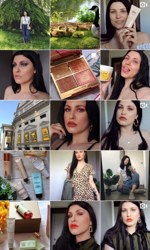 Rebecca Allatt Instagram Account