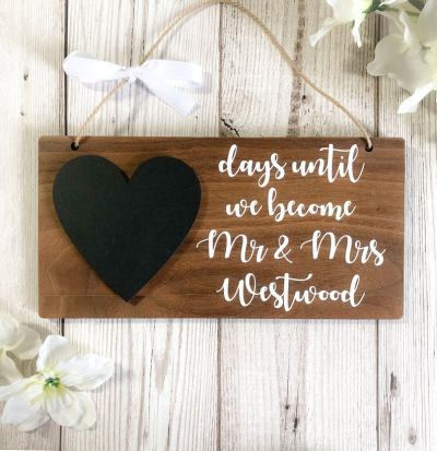 wedding countdown - Pointless things I want for my wedding