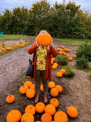 Visiting a Pumpkin Patch