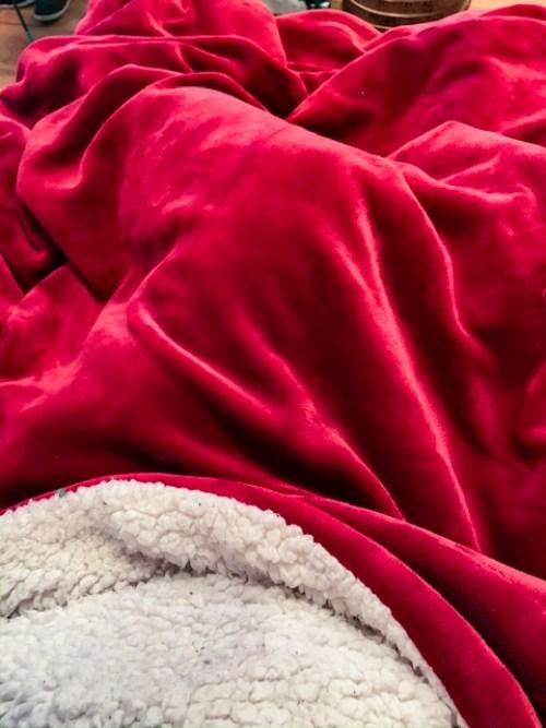 blanket cosy night in