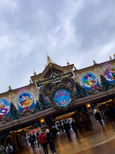 Christmas at Disneyland Paris