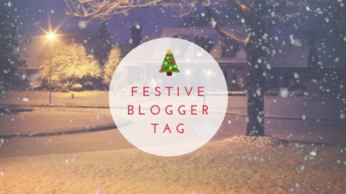 Festive Blogger Tag