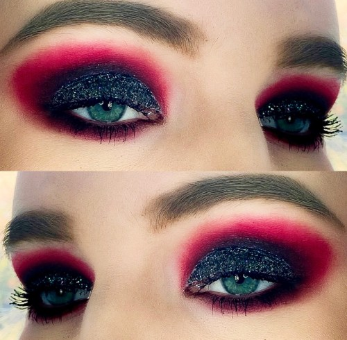 Anti-Valentine's Day Makeup Look