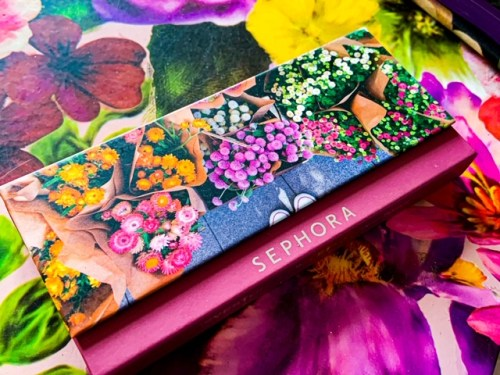 Sephora Eyestories Fresh Florals Eyeshadow Palette