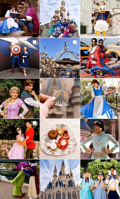 the fairytale traveler disney instagram