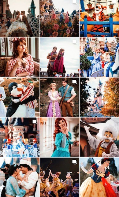 the girl at pooh corner disney instagram