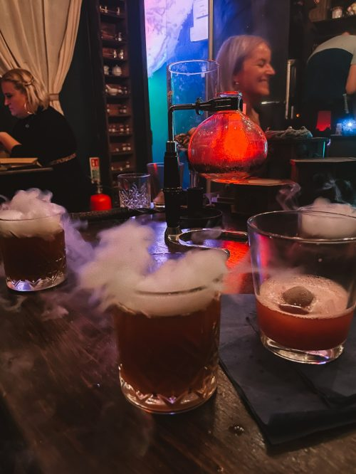 potion making cocktail class