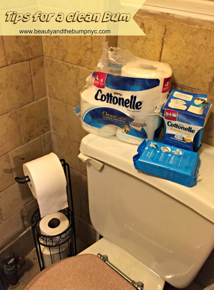 Tips for a Clean Bum: Cottonelle Clean Care Toilet Paper & Fresh Care Flushable Cleansing Cloths #Sp