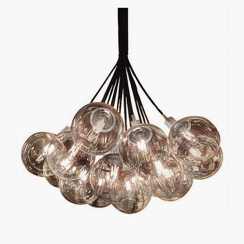 Vintage Sonneman Orb Light Cluster Pendant Wayfair