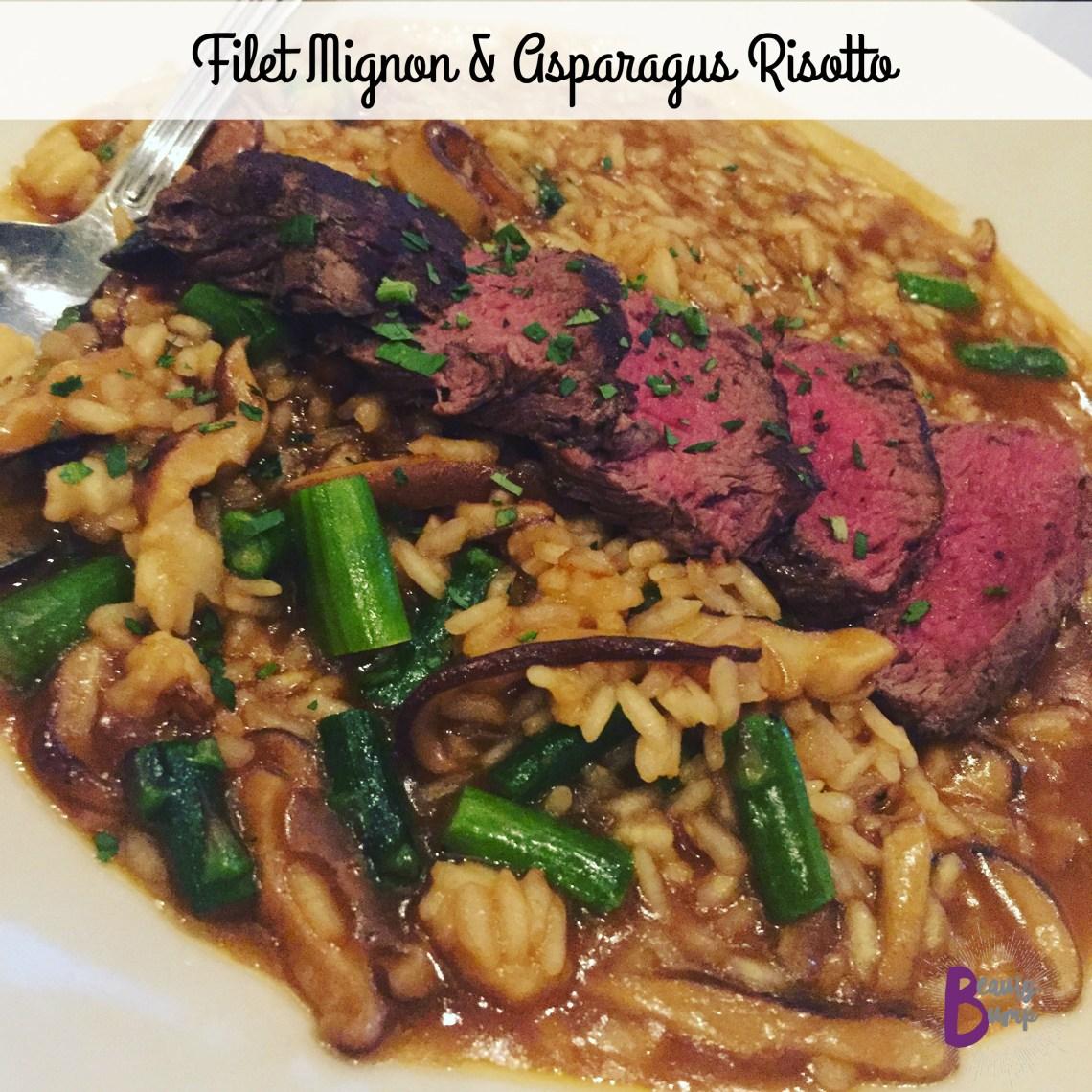 Maggiano's Filet Mignon & Asparagus Risotto